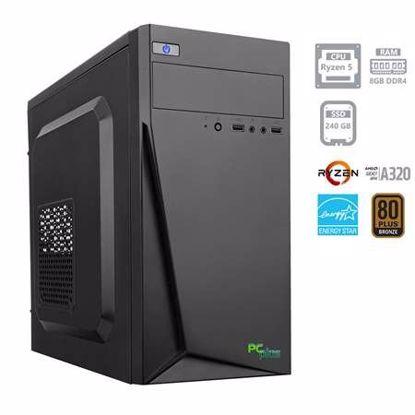 Fotografija izdelka PCPLUS i-net AMD Ryzen 5 2400G 8GB 240GB SSD W10