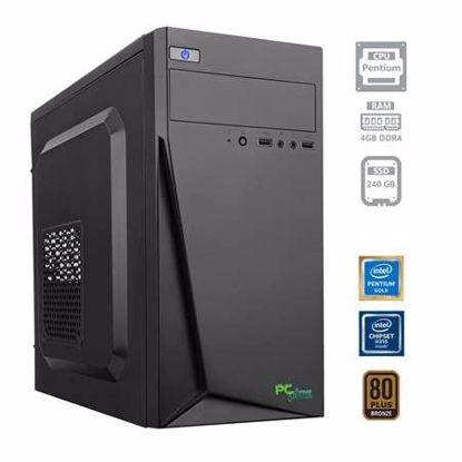 Fotografija izdelka PCPLUS Family Pentium G5400 4GB 240GB SSD W10