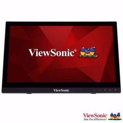 """Fotografija izdelka VIEWSONIC TD1630-3 39,62cm (15,6"""") TN zvočniki na dotik LED monitor"""