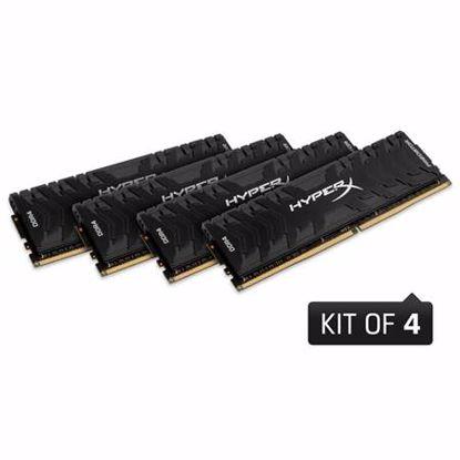 Fotografija izdelka  KINGSTON HyperX Predator 64GB (4x 16GB) 3000MHz DDR4 (HX430C15PB3K4/64) ram pomnilnik