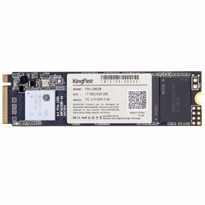 Fotografija izdelka KINGFAST 256GB M.2 2280 PCIe NVMe (KF1713DCS25-256) SSD