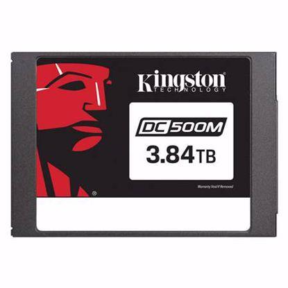 Fotografija izdelka KINGSTON Data Center DC500 Enterprise (Mixed-Use) 3,84TB 2,5'' SATA3 NAND 3D TLC (SEDC500M/3840G) SSD