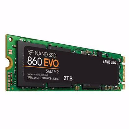 Fotografija izdelka SAMSUNG 860 EVO 2TB M.2 SATA3 (MZ-N6E2T0BW) SSD
