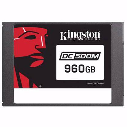 Fotografija izdelka KINGSTON Data Center DC500 Enterprise (Mixed-Use) 960GB 2,5'' SATA3 NAND 3D TLC (SEDC500M/960G) SSD