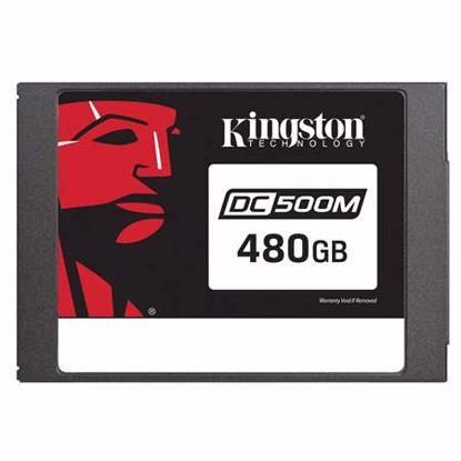 Fotografija izdelka KINGSTON Data Center DC500 Enterprise (Mixed-Use) 480GB 2,5'' SATA3 NAND 3D TLC (SEDC500M/480G) SSD