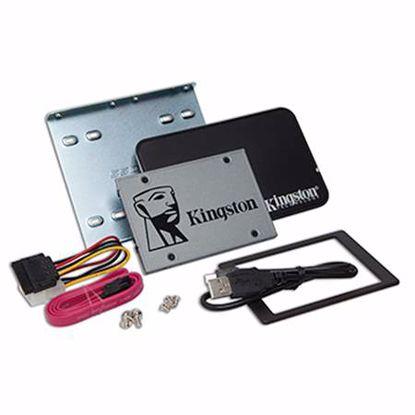 """Fotografija izdelka KINGSTON UV500 240GB 2,5"""" SATA3 (SUV500B/240G) kit SSD disk"""