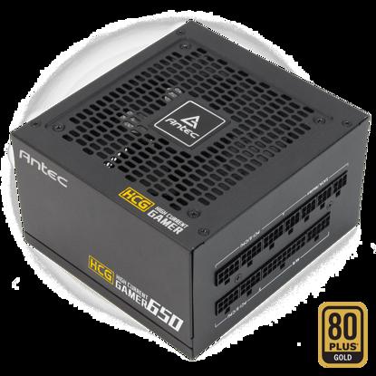 Fotografija izdelka ANTEC HGC650 Gold 12V 650W 80PLUS Gold (0-761345-11632-9) ATX gaming napajalnik