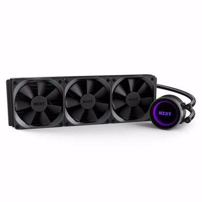Fotografija izdelka NZXT KRAKEN X72 360mm RGB vodno hlajenje za procesor