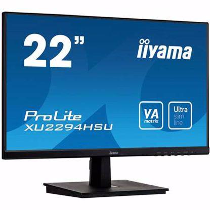 "Fotografija izdelka IIYAMA PROLITE XU2294HSU-B1 54,6cm (21,5"") FHD VA zvočniki LED LCD monitor"