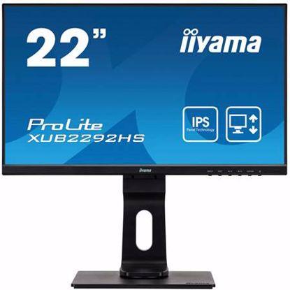 "Fotografija izdelka IIYAMA PROLITE XUB2292HS-B1 54,6cm (21,5"") FHD IPS zvočniki LED LCD monitor"