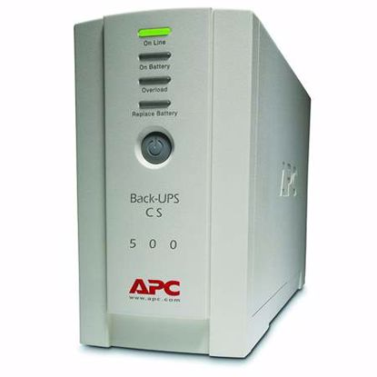 Fotografija izdelka APC Back CS BK500EI Offline 500VA 300W UPS brezprekinitveno napajanje