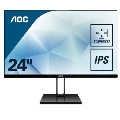 "Fotografija izdelka AOC 24V2Q 23,8"" IPS monitor"