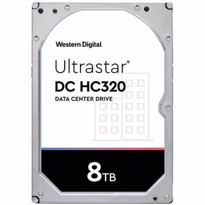"""Fotografija izdelka WD Ultrastar DC HC320 8TB 3,5"""" SATA3 256MB 7200rpm (HUS728T8TALE6L4) trdi disk"""