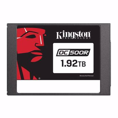 Fotografija izdelka KINGSTON Data Center DC500 Enterprise (Read-Centric) 1,92TB 2,5'' SATA3 NAND 3D TLC (SEDC500R/1920G) SSD