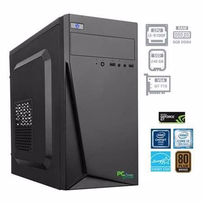 Fotografija izdelka PCPLUS Storm i3-9100F 8GB 240 GB SSD GeForce GT710 2GB W10PRO