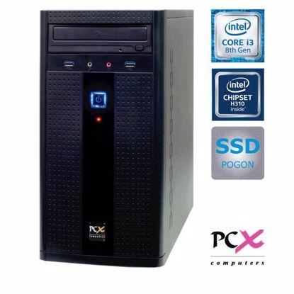 Fotografija izdelka PCX EXAM  G2830 (i3-8100/8GB/SSD 240GB/HD630) W10