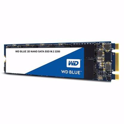 Fotografija izdelka WD Blue 3D NAND 500GB M.2 2280 SATA3 (WDS500G2B0B) SSD