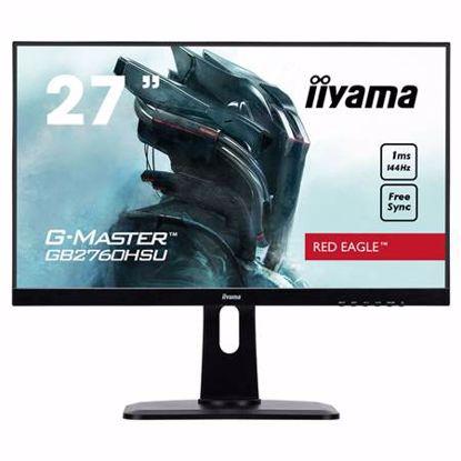 """Fotografija izdelka IIYAMA G-MASTER Red Eagle GB2560HSU-B1 68,6cm (27"""") FHD TN HDMI/DP/USB FreeSync 1ms 144 Hz zvočniki gaming LED LCD monitor"""