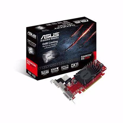 Fotografija izdelka ASUS Radeon R5 230 2GB GDDR3 Silent Low Profile (R5230-SL-2GD3-L) grafična kartica
