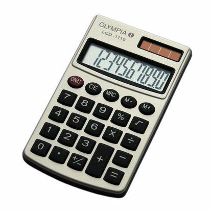 Fotografija izdelka Olympia Kalkulator LCD-1110 srebrn