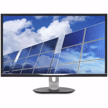 Fotografija izdelka Monitor LED Philips 328B6QJEB/00, B-line, 32'' 2560x1440@60Hz, 16:9, IPS , 5ms, 250nits, Speakers 3W, Black, 3 Years, VESA100x100/VGA/DVI/HDMI/MHL/DP/USB 2.0 x 2, USB 3.0 x 2