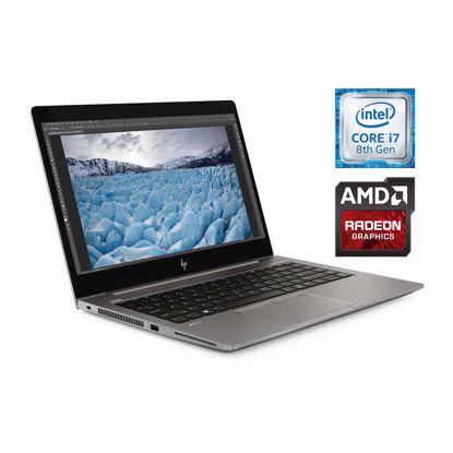 Fotografija izdelka Prenosnik HP ZBook 14u G6 i7-8565U/16GB/SSD 512GB/14''FHD IPS ALS/WX3200 4GB/W10Pro