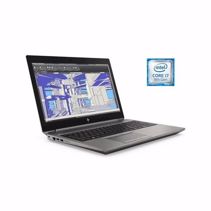 Fotografija izdelka Prenosnik HP ZBook 15 G6 i7-9850H/32GB/SSD 512GB/15,6''FHD IPS Al/T2000 4GB/W10Pro