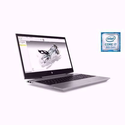 Fotografija izdelka Prenosnik HP ZBook 15v G5 i7-8750H/16GB/SSD 512GB/1TB/15,6''FHD IPS/P600 4GB/W10
