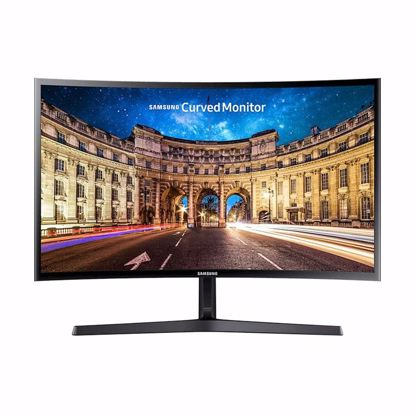 "Fotografija izdelka Monitor Samsung C27F398FWU, 27"", VA, CURVED, 16:9, 1920x1080, HDMI, DP, VESA"