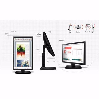 """Fotografija izdelka Monitor LG B2B 24MB37PY, 24"""", IPS, 16:9, 1920x1080, VGA, DVI, DP,USB, VESA"""