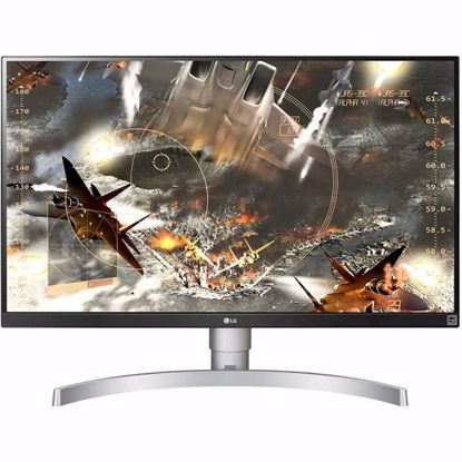 "Fotografija izdelka Monitor LG 27UK650-W, 27"", IPS, 16:9, 3840x2160, 2 x HDMI, DP, VESA"