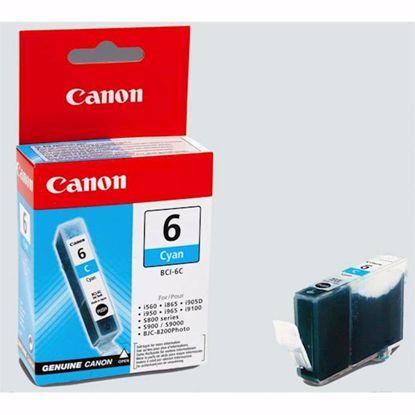Fotografija izdelka ČRNILO CANON BCI-6 CYAN ZA 280 STRANI ZA S800 / S9000 / S820 / S900 / S830D / i9100 / i950 / i965