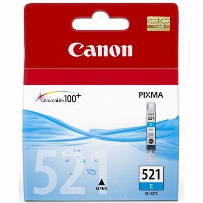 Fotografija izdelka ČRNILO CANON CLI-521 CYAN ZA IP3600/4600/MP540/MP620 ZA 12ml