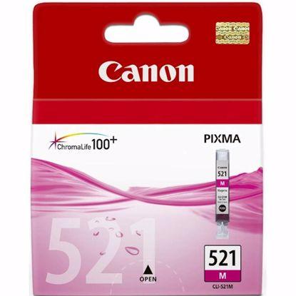 Fotografija izdelka ČRNILO CANON CLI-521 MAGENTA ZA IP3600/4600/MP540/MP620 ZA 12ml