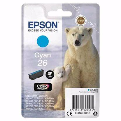 Fotografija izdelka ČRNILO EPSON CYAN 26 ZA EXPR.PREM.XP-600, XP-700, EXP-800