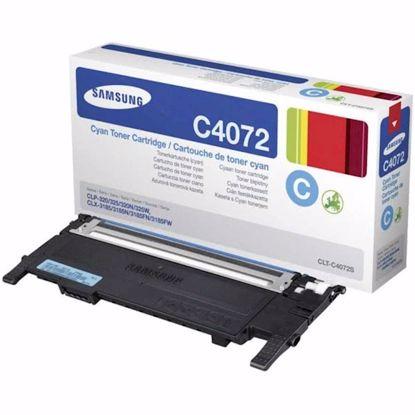 Fotografija izdelka TONER SAMSUNG CYAN CLT-C4072S ZA CLX-3185 ZA 1.000 STRANI