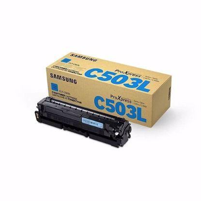 Fotografija izdelka TONER SAMSUNG CYAN CLT-C503L ZA SL-C3060FR ZA 5.000 STRANI