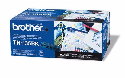 Fotografija izdelka Brother Toner TN135BK, črn, 5.000 strani HL4040/50/70 DCP9040/2/5 MFC9440/50/9850