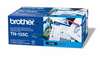 Fotografija izdelka Brother Toner TN135C, cyan, 4.000 strani HL4040/50/70 DCP9040/2/5 MFC9440/50/9850