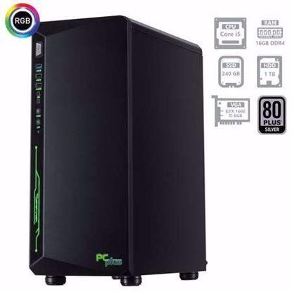 Fotografija izdelka PCPLUS Gamer i5-9400F 16GB 240GB SSD + 1TB GTX1660Ti 6GB W10PRO + OFFICE 2019 Home&Business