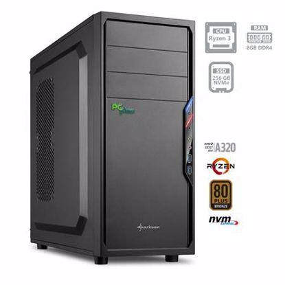 Fotografija izdelka PCPLUS i-net AMD Ryzen 3 3200G 8GB 256GB NVMe SSD DOS