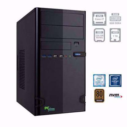 Fotografija izdelka PCPLUS e-office i7-9700 8GB 256GB NVMe SSD 1TB HDD W10PRO
