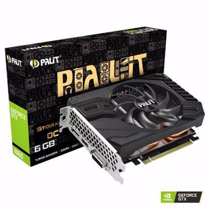 Fotografija izdelka PALIT GeForce GTX 1660 StormX OC 6GB GDDR5 (NE51660S18J9-165F) grafična kartica