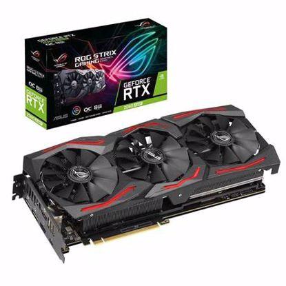 Fotografija izdelka ASUS ROG Strix GeForce RTX 2060 SUPER EVO OC 8GB GDDR6 USB tip-C (ROG-STRIX-RTX2060S-O8G-EVO-GAMING) RGB gaming grafična kartica