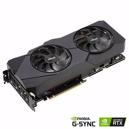 Fotografija izdelka ASUS Dual GeForce RTX 2080 SUPER EVO V2 8GB GDDR6 (DUAL-RTX2080S-8G-EVO-V2) gaming grafična kartica