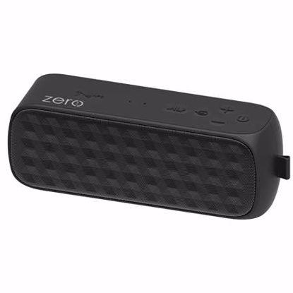Fotografija izdelka ZERO LINE SmartSound Dust 6W Bluetooth črn vodoodporen zvočnik