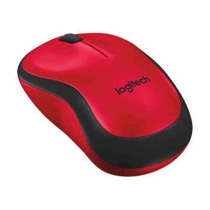 Fotografija izdelka LOGITECH M220 Silent brezžična optična rdeča miška