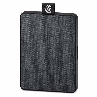Fotografija izdelka SEAGATE 500GB SSD USB 3.0. One Touch črn