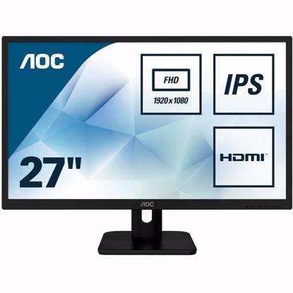 "Fotografija izdelka AOC 27E1H 27"" IPS monitor"