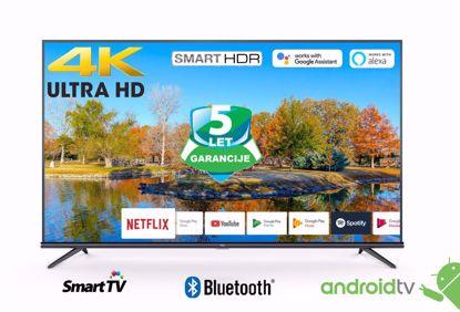 """Fotografija izdelka LED TV TCL 43"""" (diagonala 109cm) 43EP660, 4K-UHD, HDR Smart, Android 9.0, Pameten, WiFi, 10bit, Micro Dimming,  Ultra tanko metalno titanium ohišje"""